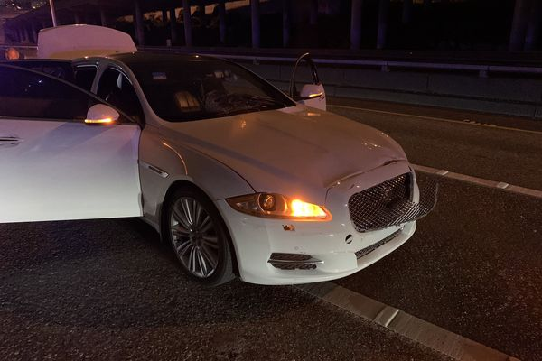 One woman killed, one seriously injured as car hits protesters on closed Seattle highway killing