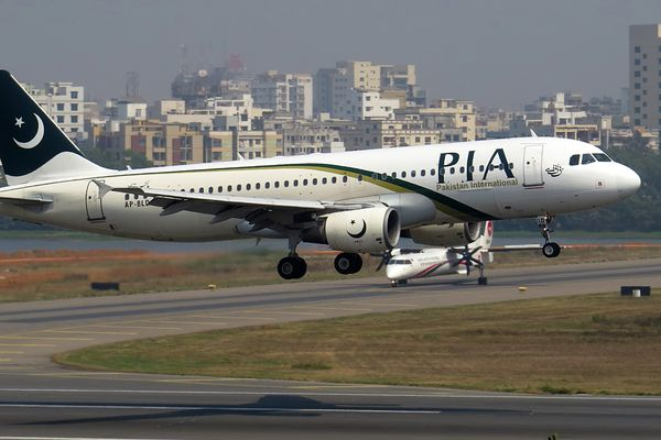 PIA international airoplane