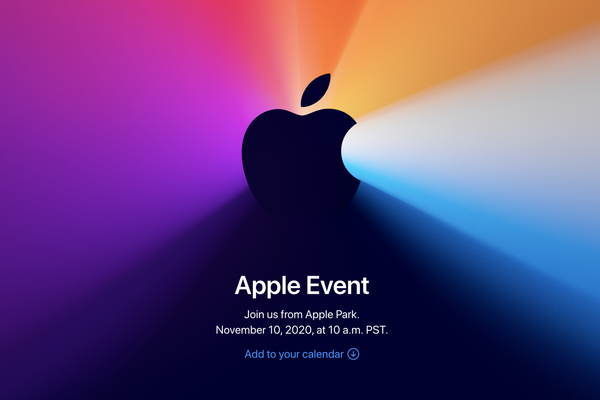 """""""One More Thing"""" – Apple announces event for November 10th"""
