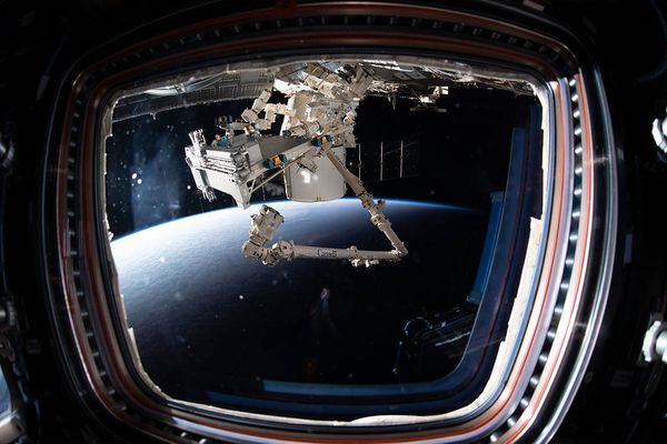 International Space Station (ISS) in space