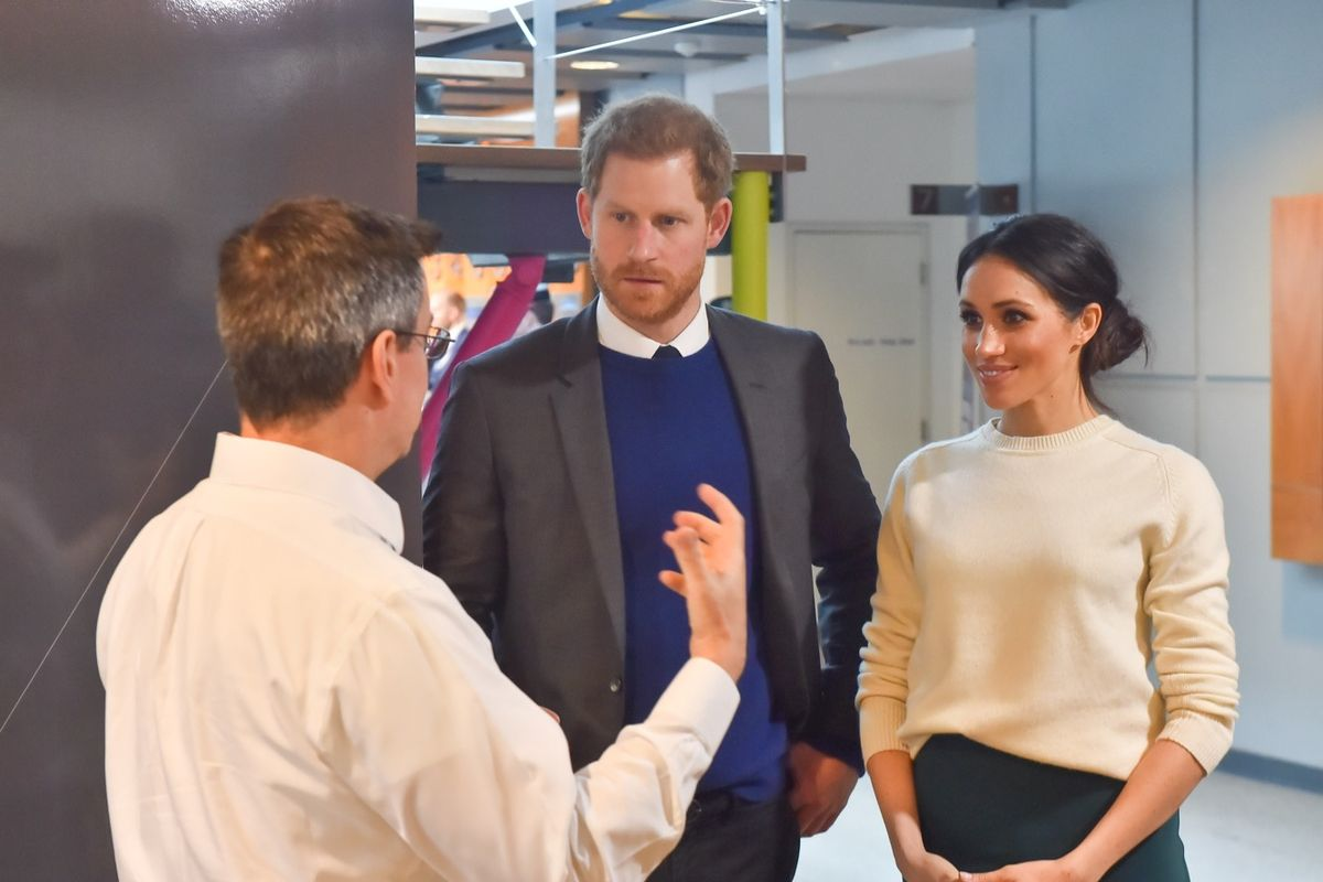 Meghan says British royalty worried about skin tone of her son with Harry