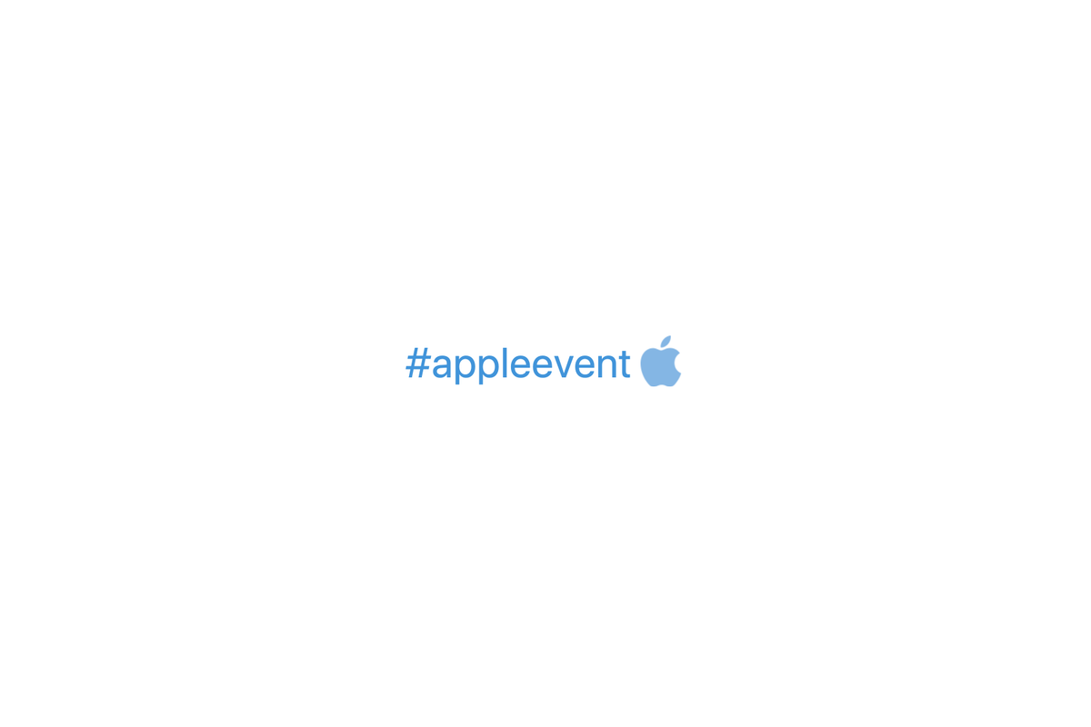 #appleevent hashtag appears on Twitter ahead of rumoured Apple event
