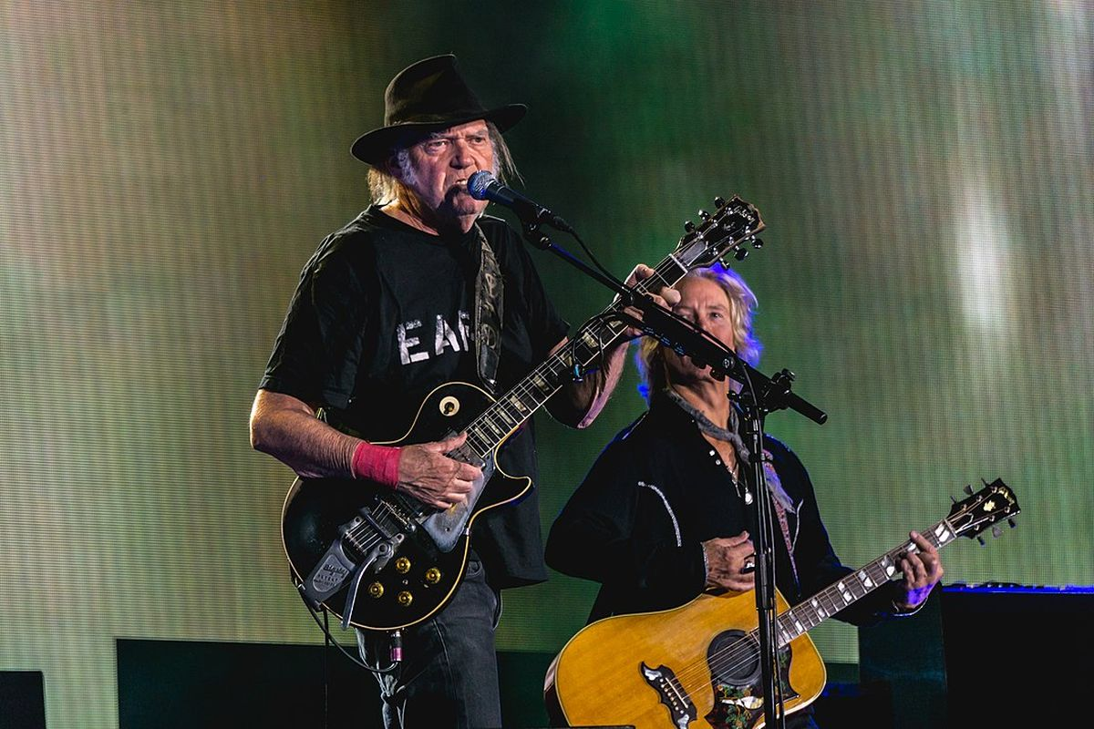 """Neil Young tweets """"This is NOT ok with me"""" regarding Trump using his songs"""