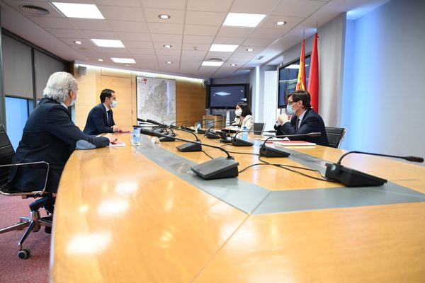 Meeting between Spanish Government and Madrid Covid 19 task force