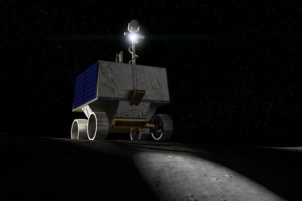 VIPER will  be tasked to prospect for natural lunar resources, especially water ice within a permanently shadowed region near the lunar south pole.
