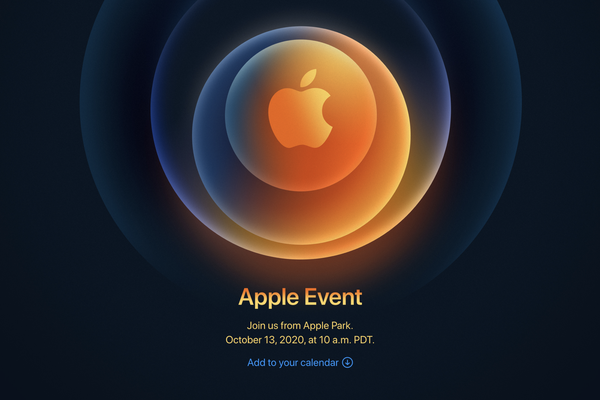 Apple announces event for October, 13
