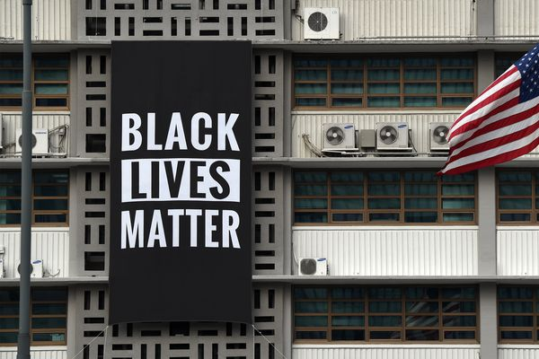 Black Lives Matter banner removed from U.S. embassy in Seoul after Trump displeased