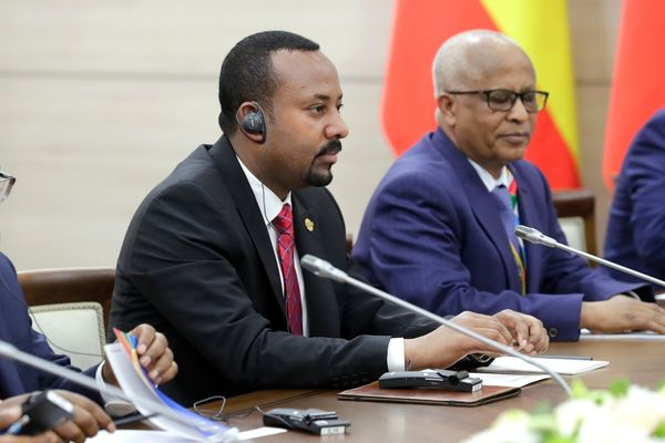 Prime Minister of the Federal Democratic Republic of Ethiopia Abiy Ahmed, 2019