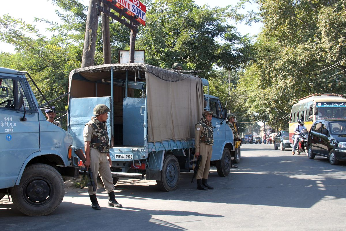 Chinese and Indian forces clash in Kashmir region - multiple deaths