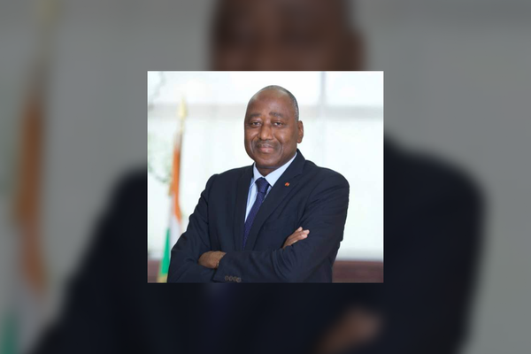 Côte d'Ivoire Prime Minister Amadou Gon Coulibaly in 2018