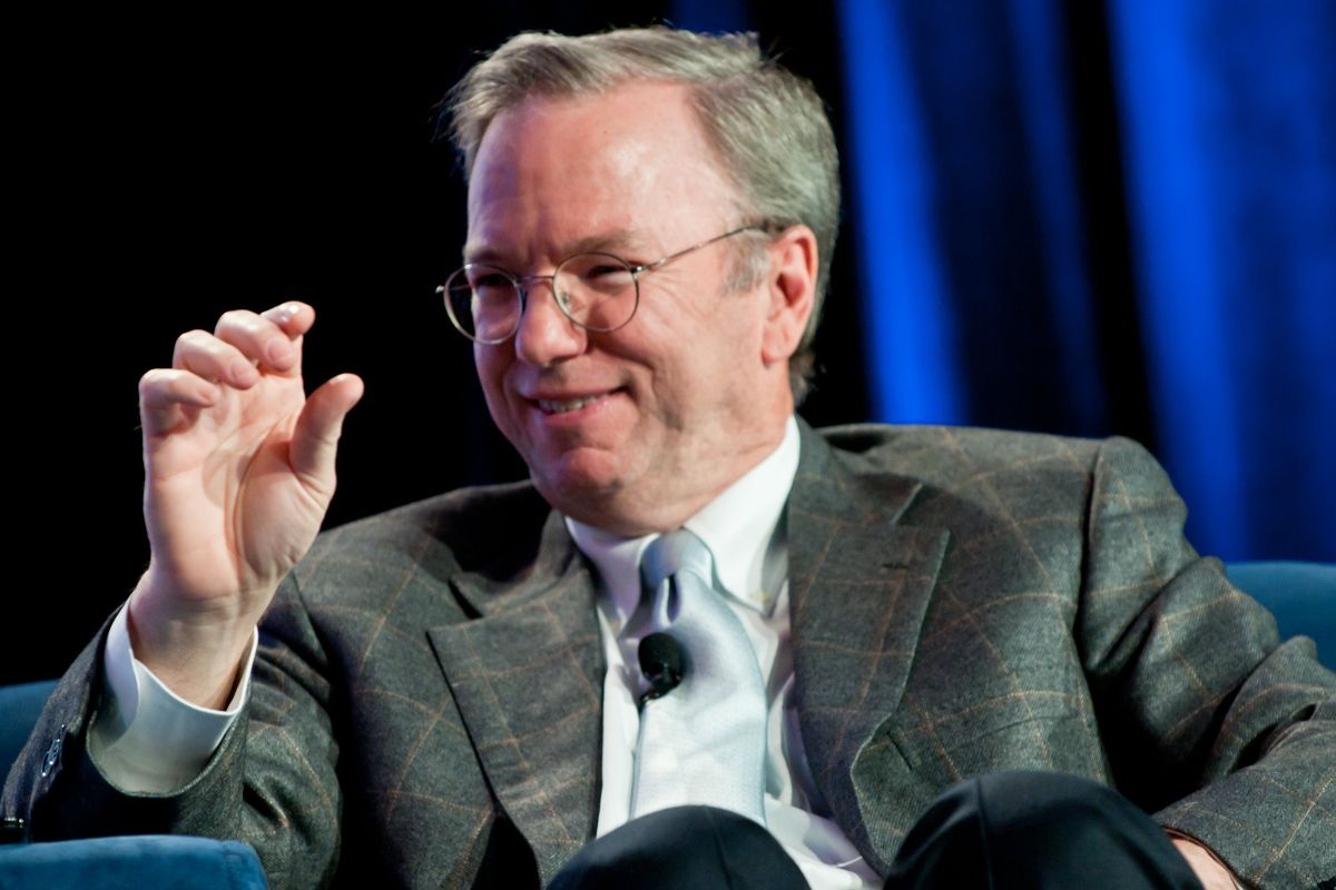 Eric Schmidt, the former CEO of Google, has applied to become a citizen of Cyprus