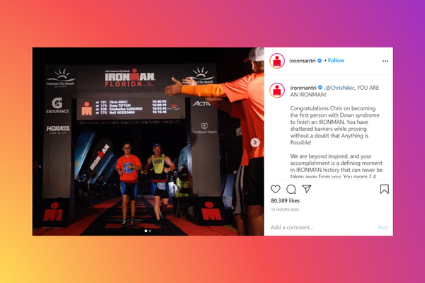 Chris Nikic becomes first person with Down syndrome to finish an Ironman