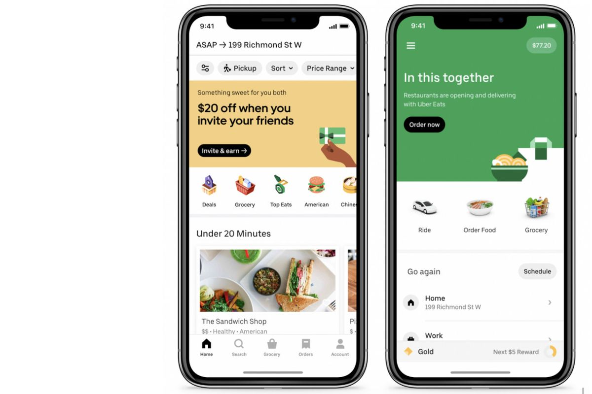 Uber launches grocery delivery in Latin America and Canada
