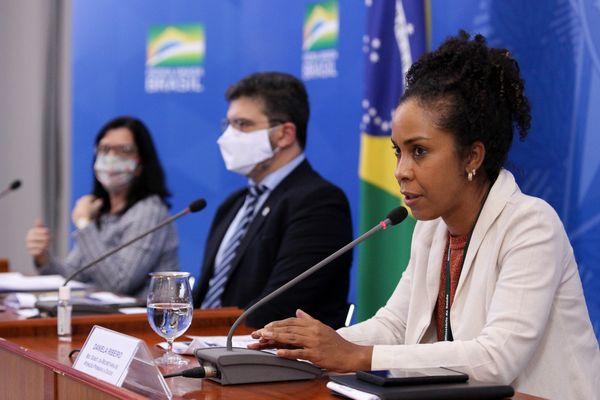 Brazil's Health Ministry Press Conference