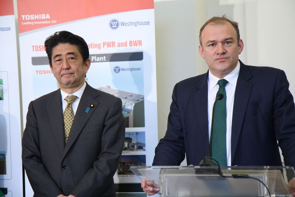 Ed Davey (right)