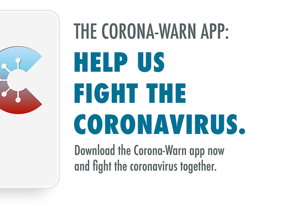 Campaign image for the Corona-Warn App