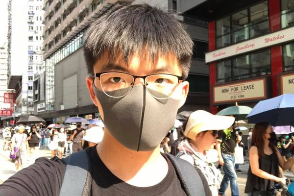 Pro-democracy activist and politician Joshua Wong has been arrested in Hong Kong