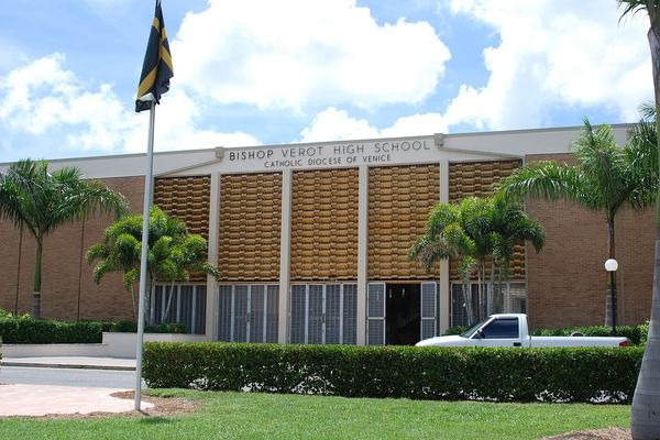 Bishop Verot High School in Fort Myers, Florida