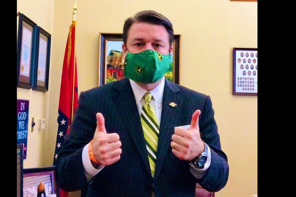 "Arkansas US senator tested positive for Covid-19 after sharing article that describes virus as ""hoax"""
