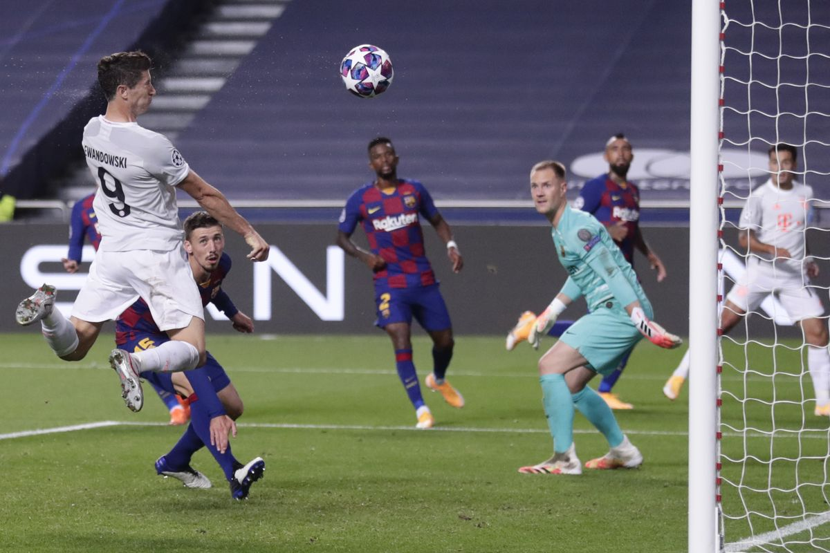 Bayer Munich humiliates Barcelona and sails to the Champions League semi-finals