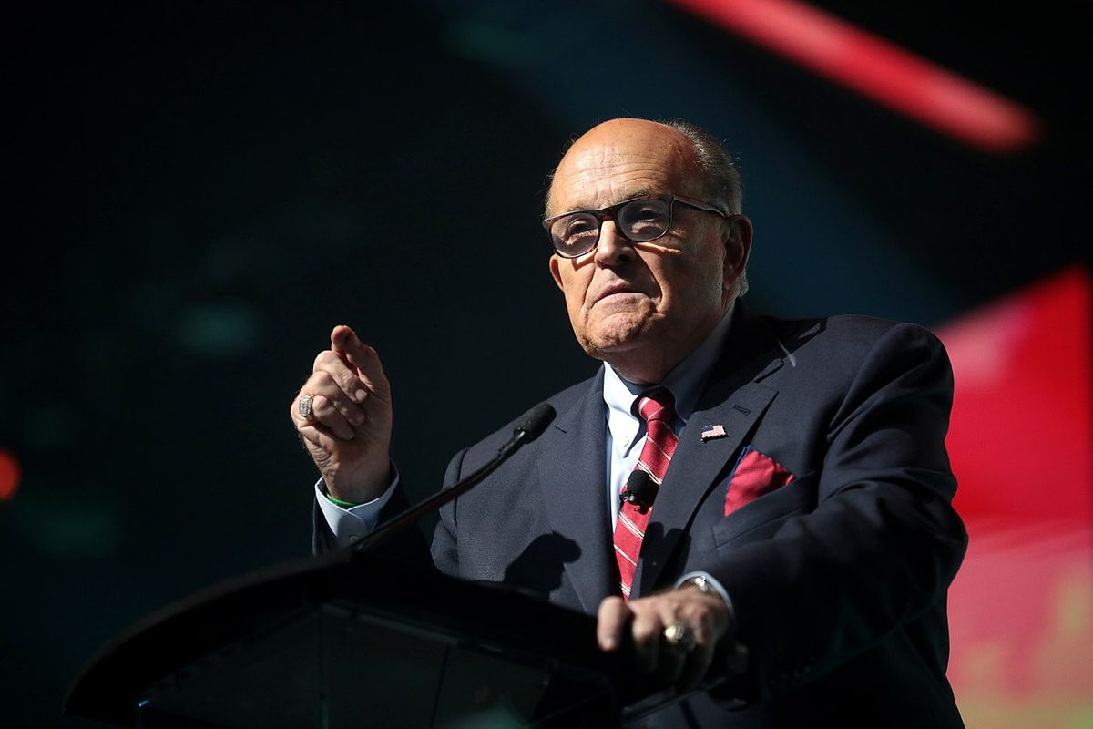 New York Times reports that Rudy Giuliani has been put in charge of Trump's election lawsuits