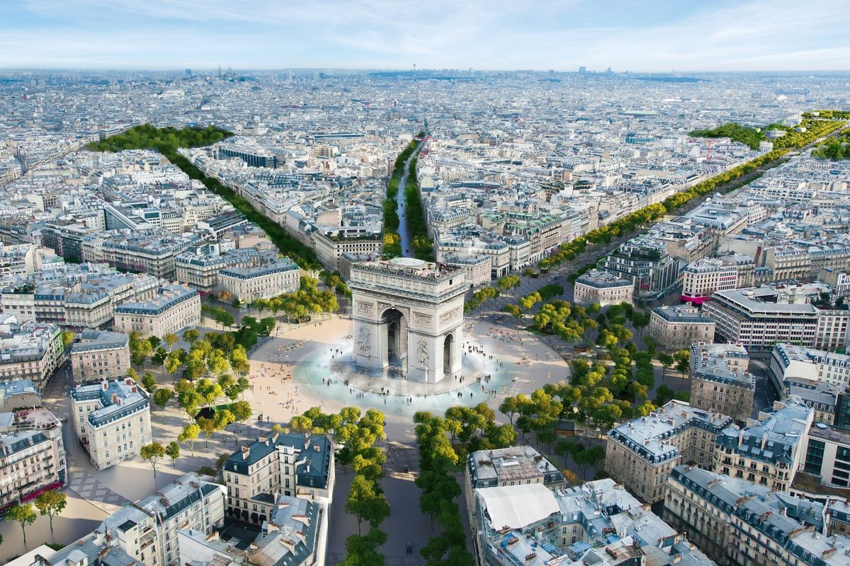 """Champs-Élysées in Paris will be turned into """"extraordinary garden"""""""