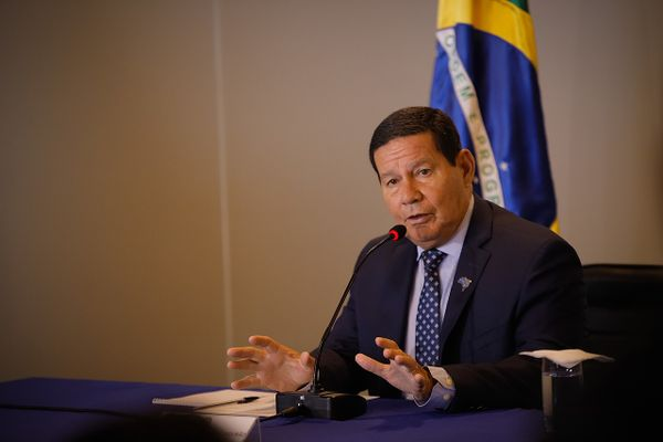 Brazil's vice president Hamilton Mourão tests positive for Covid-19