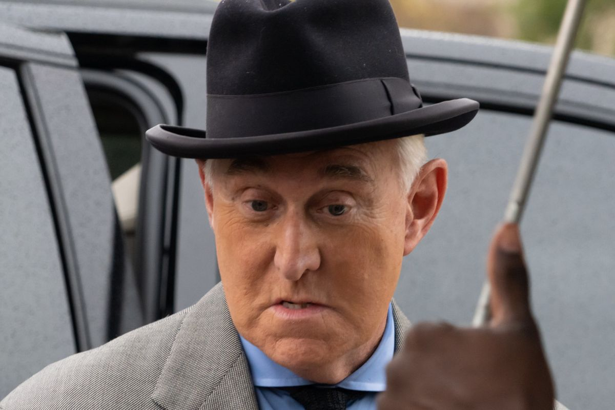 Roger Stone commuted by Trump, no prison time