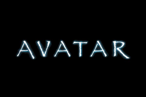 Opening logo to the Avatar film