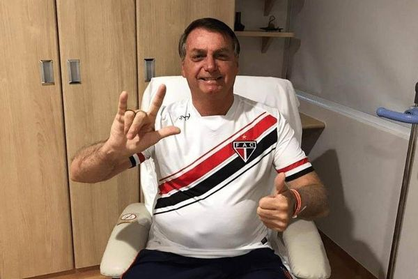 Jair Bolsonaro, after the surgery