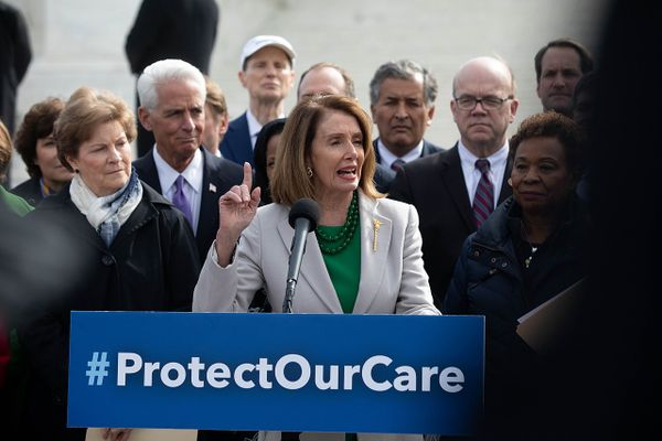 Nancy Pelosi at #ProtectOurCare, 2019