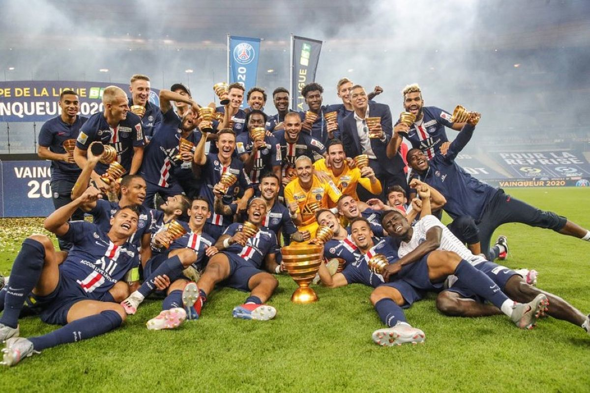 PSG beats Lyon and takes the French League Cup