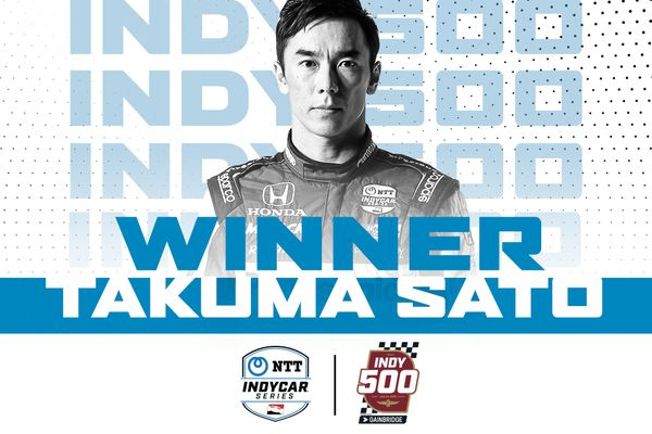 Takuma Sato picks up his second Indianapolis 500 victory