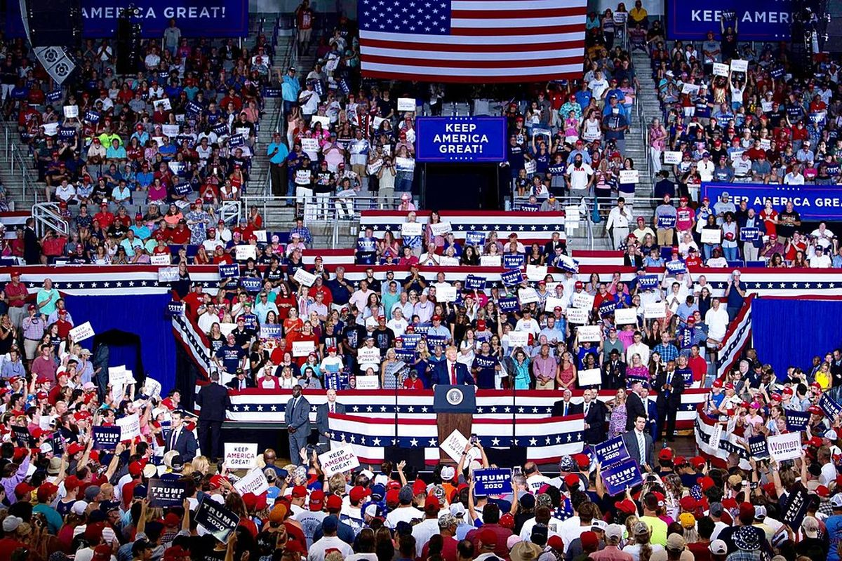 Attendees of Trump rallies have to sign waiver, can't sue if infected with Covid-19