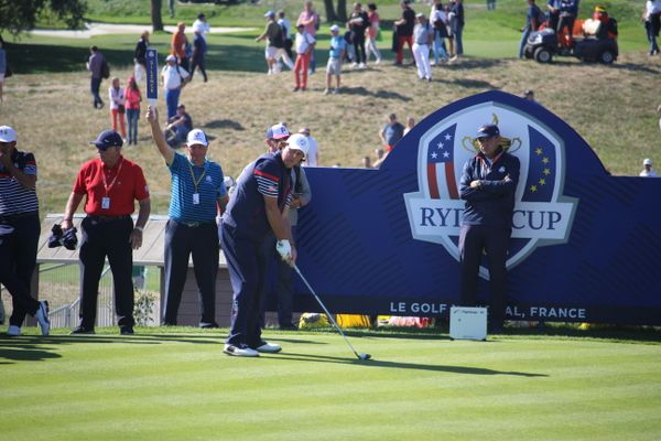 Phil Mickelson during Ryder Cup 2018