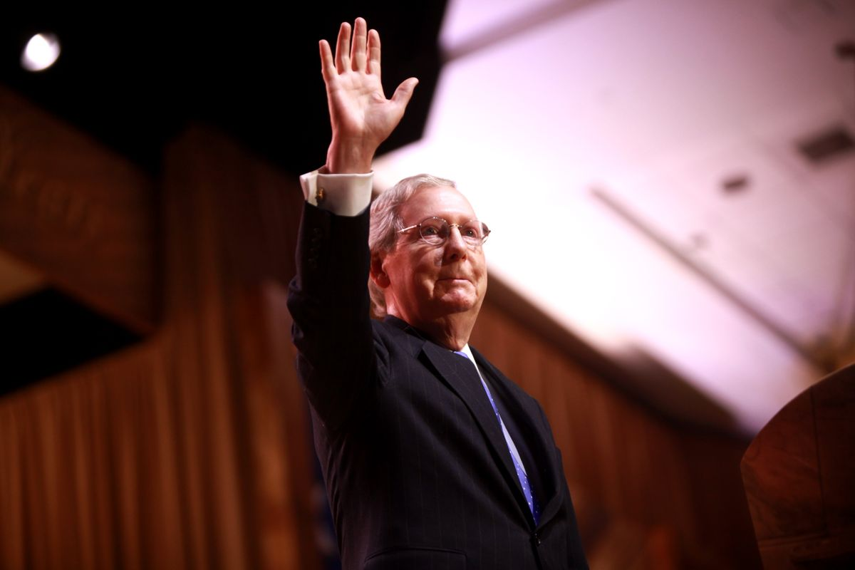 """McConnell promises Barrett would receive a vote in the """"weeks ahead"""""""