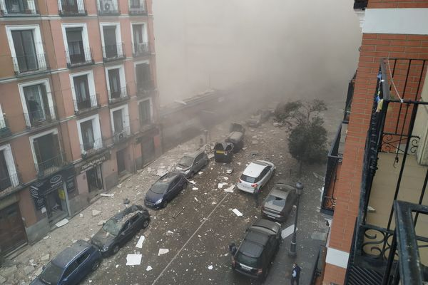 Picture of Calle de Toledo, after the explosion