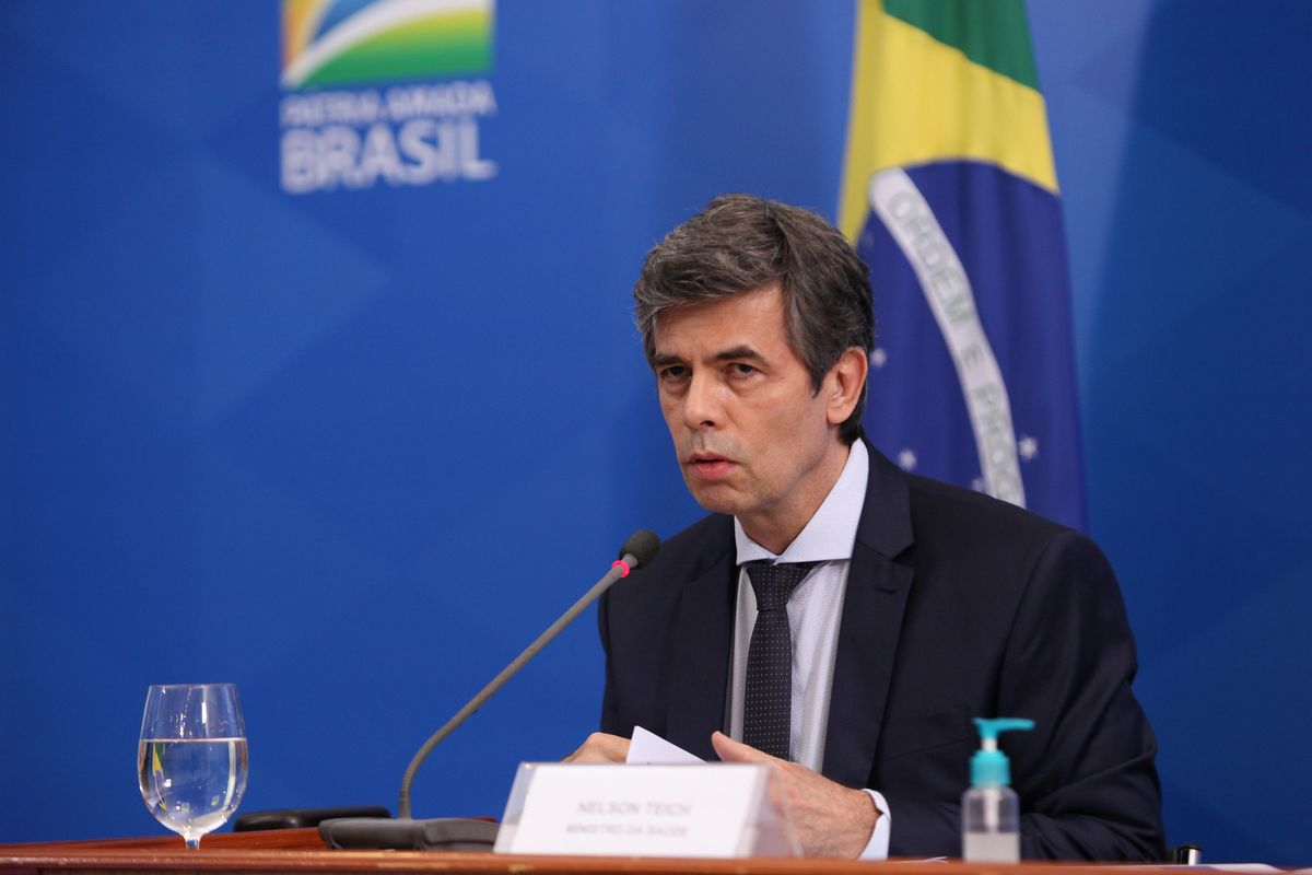 Brazilian health minister Nelson Teich resigns