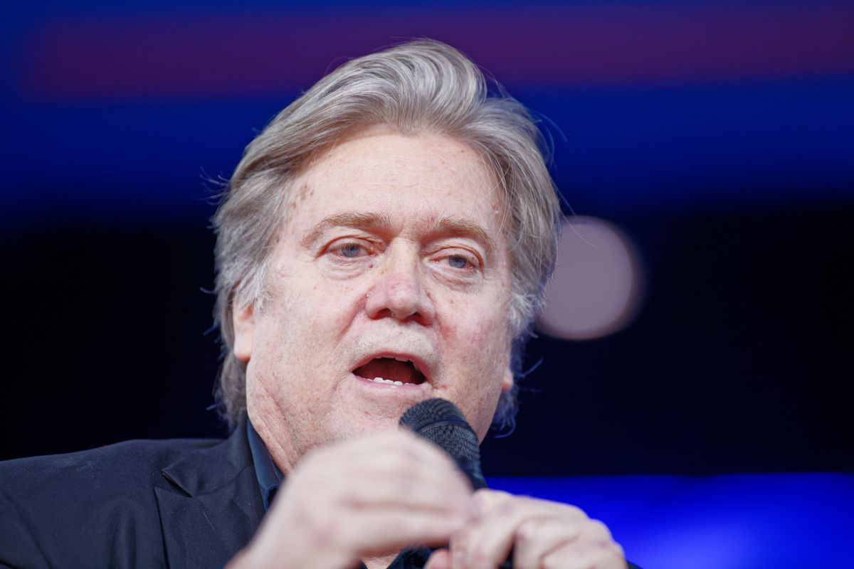 Former Trump advisor Steve Bannon arrested on charges of defrauding donors in fundraising scheme